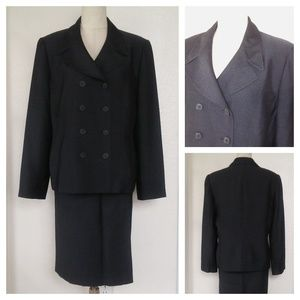 KASPER ASL Double Breast Skirt Suit 14